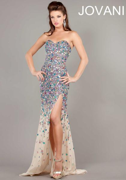 2013 Jovani Gorgeous Fitted Prom Dress 946