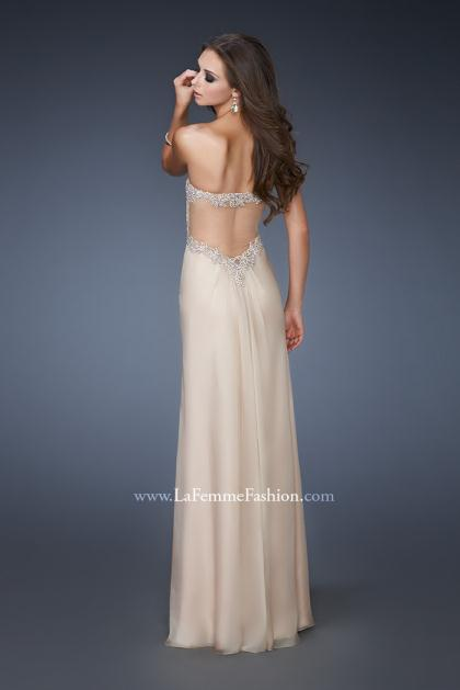 2014 Beautiful Beaded La Femme Prom Dress 18542
