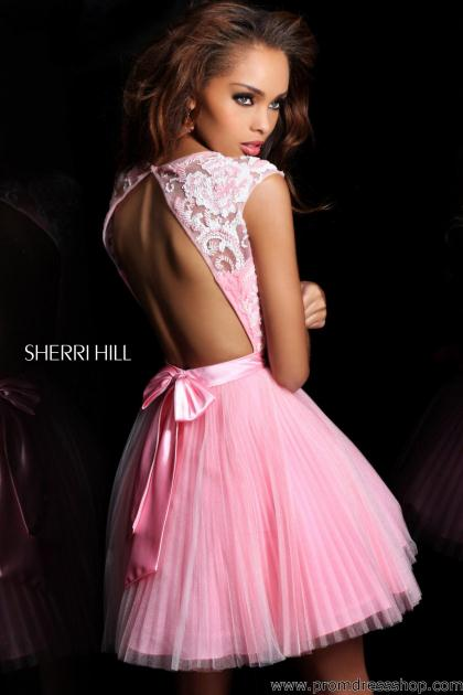 Sherri Hill Short Dress 21167 at Prom Dress Shop
