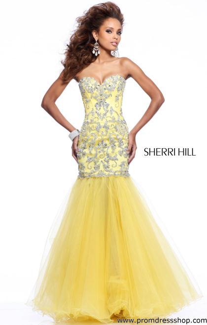 Sherri Hill Mermaid Prom Dress 2974