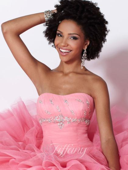 Tiffany 16899 at Prom Dress Shop