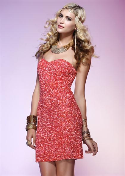 Scala Short Dress Q1044