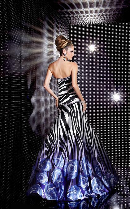 Zebra Dresses For Prom 102