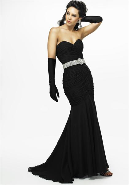 Strapless Landa Homecoming Dress G545