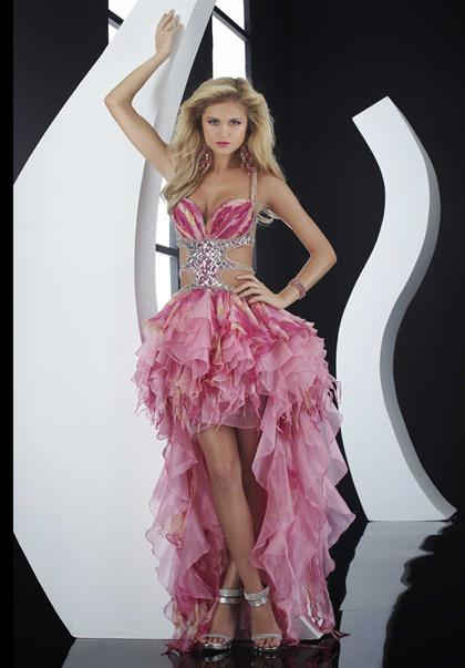 Sexy 2012 High Low Prom Dress By Jasz 4564A