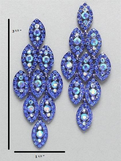 Chandelier Sapphire Earrings
