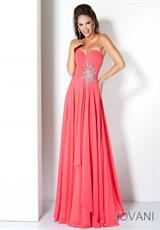2012 Long Strapless Prom Dress by Jovani 110967