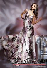 Tony Bowls Paris 112721.  Available in Ivory/Multi