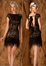 MacDuggal 1184D.  Available in Black/Nude