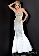 Jovani 172061.  Available in Black, Red, Royal, White