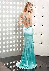 Jasz Couture 4350.  Available in Ice Blue, Purple, White, Yellow