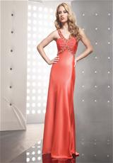 Jasz Couture 4313.  Available in Orange, Purple