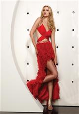 Jasz Couture 4356.  Available in Red
