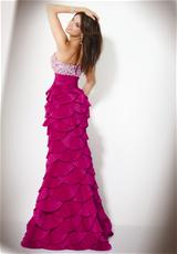 Jovani 71355.  Available in Black, Fuchsia, Off White
