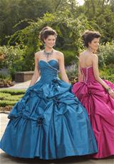 2012 Taffeta Vizcaya Quinceanera Dress 87072