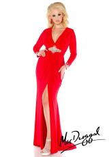 Fabulouss Plus Size 76152F.  Available in Black, Red