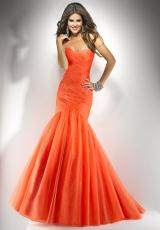 2013 Amazing Laced Back Flirt Prom Dress P4708