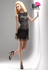 2012 Flirt V-Cut Homecoming Dress PF5117