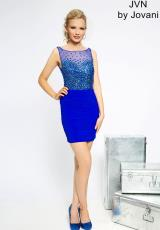 JVN by Jovani JVN20388.  Available in Blush , Orange , Royal