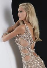 Jasz Couture 4905.  Available in Nude, Red