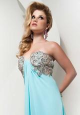 2014 Jasz Couture Strapless Prom Dress 4827
