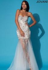 2014 Jovani Sheer Skirt Prom Dress 79213