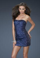 Short 2013 La Femme Prom Dress 18137