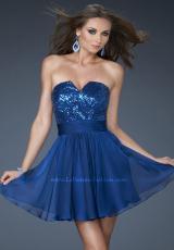 2013 Strapless La Femme Homecoming Dress 18162