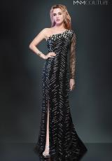 MNM Couture 8273.  Available in Black, Silver