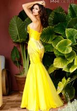 2014 MNM Couture Chiffon Bodice Prom Dress 9028