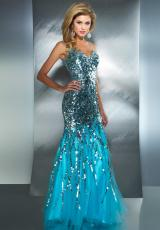 2013 MacDuggal Two Strap Prom Dress 85094M