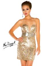 2013 MacDuggal Cocktail Sweetheart Dress 3854T