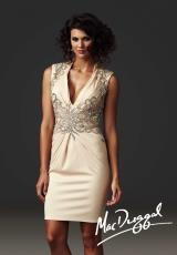 MacDuggal Cocktail 61382R.  Available in Black, Nude