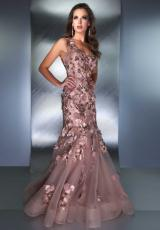 MacDuggal Couture 78581D.  Available in Black/Nude, Mocha