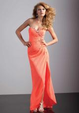 Mori Lee 93205.  Available in Neon Lime, Neon Orange