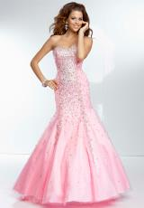 Mori Lee 95003.  Available in Aqua, Champagne, Pucker Up Pink