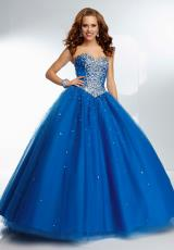 Mori Lee 95038.  Available in Fuchsia, Royal, Stiletto