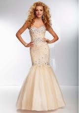 Mori Lee 95039.  Available in Black, Champagne, Red