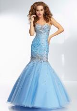 Mori Lee 95055.  Available in Bahama Blue, Blush, Mint
