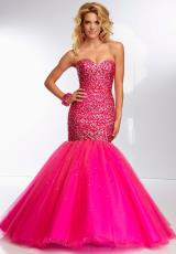 Mori Lee 95121.  Available in Hot Pink
