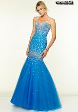 Mori Lee 97040.  Available in Champagne, Cobalt, Fuchsia