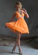 Mori Lee Sticks & Stones 9247.  Available in Neon Orange