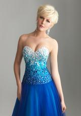 2013 Yellow Night Moves Prom Dress 6600