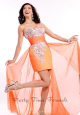 Party Time Dresses 6579.  Available in Mint, Tangerine