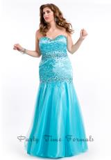 Party Time Dresses 6618.  Available in Aqua, Soft Coral