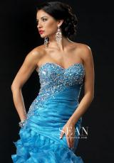 2013 Sean Ruffled Skirt Prom Dress 70638