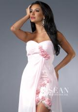2013 Sean Floral Skirt Prom Dress 90187