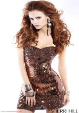 2012 Short Sherri Hill Prom Dress 2796
