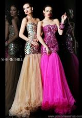 2013 Sherri Hill Fitted Bodice Prom Dress 21060