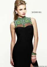 2014 Sherri Hill High Neckline Homecoming Dress 21370